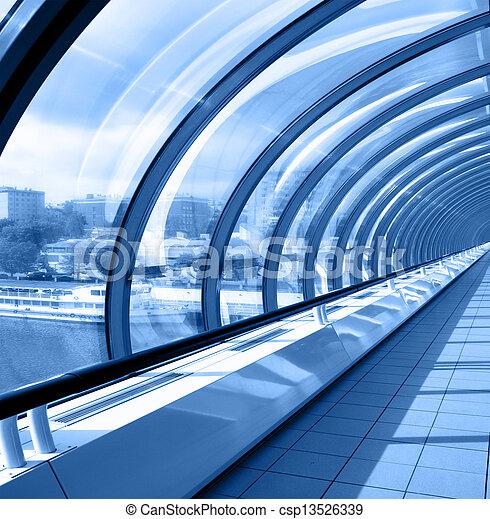 perspective, couloir - csp13526339