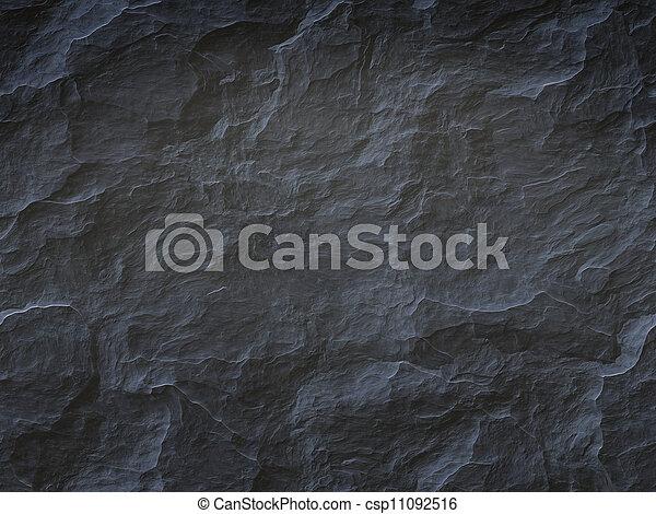 pierre, arrière-plan noir - csp11092516