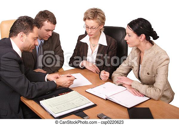 réunion, business - csp0220623