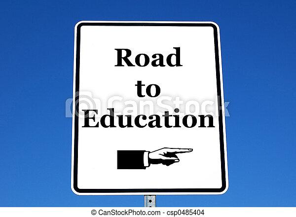 route, education - csp0485404