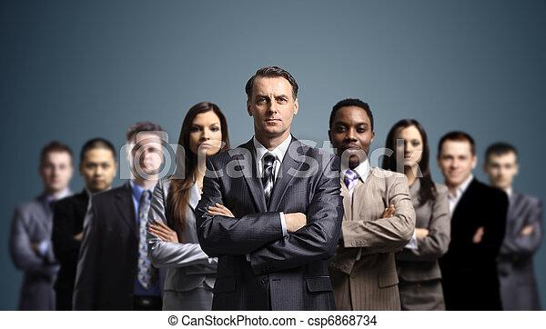 séduisant, jeune, professionnels - csp6868734