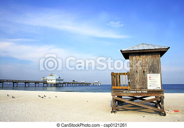 scène plage - csp0121261