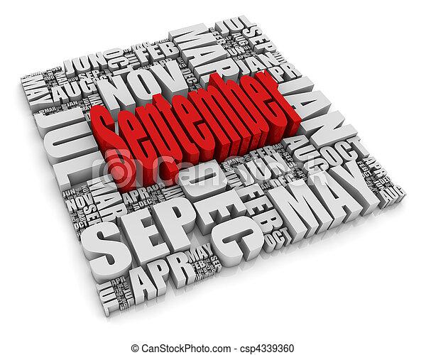 septembre - csp4339360