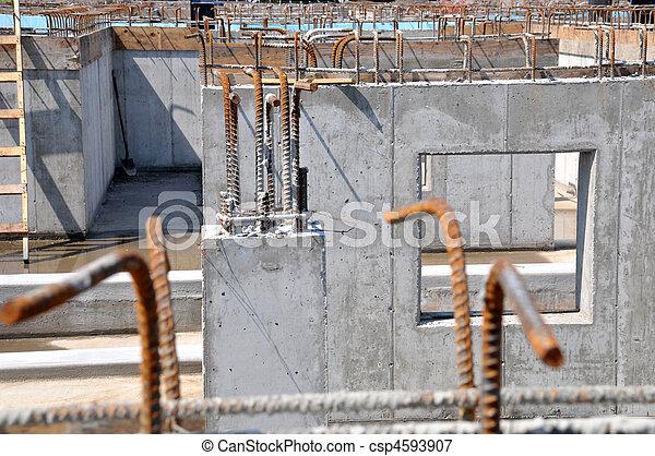 site construction - csp4593907