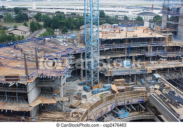 site construction - csp2476463