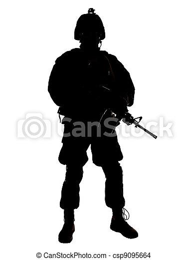 soldat, nous - csp9095664