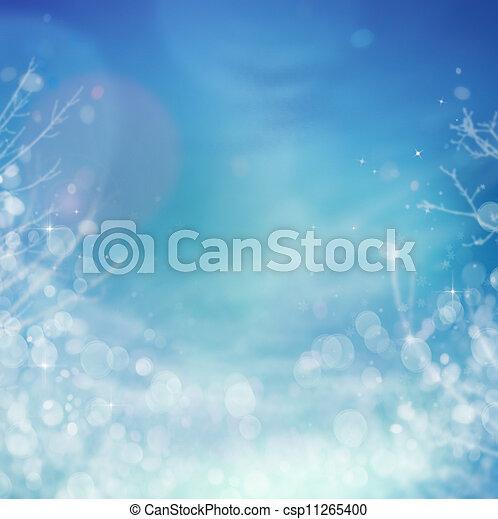 surgelé, hiver, fond - csp11265400