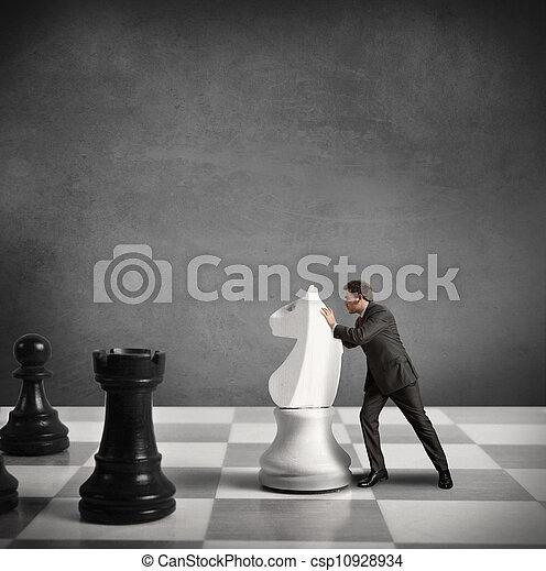 tactique, stratégie commerciale - csp10928934