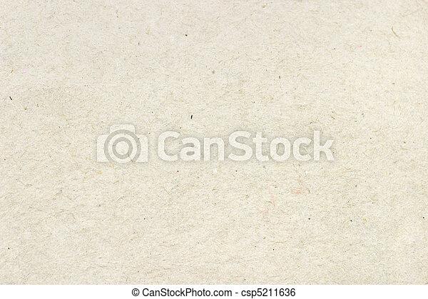 texture, papier, recyclé, surface, dessin animé - csp5211636