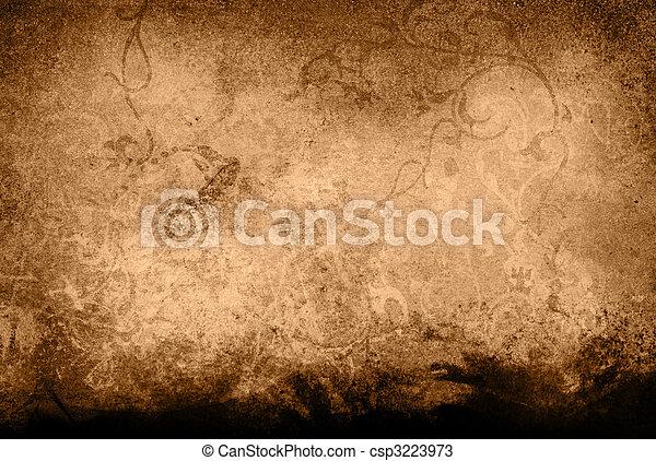 textures, res, salut, grunge, arrière-plans - csp3223973