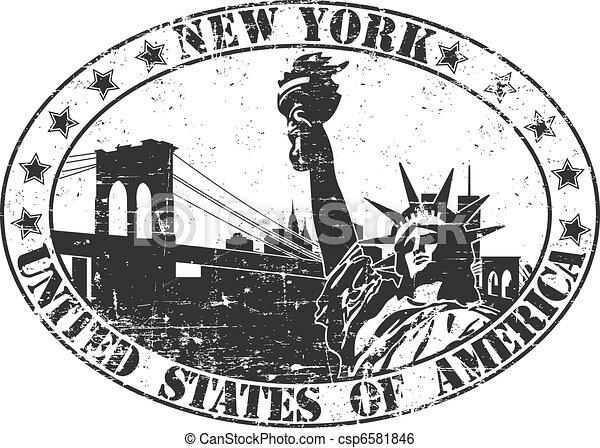 timbre, new york - csp6581846