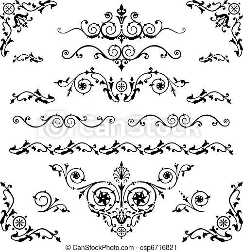 vendange, éléments, conception - csp6716821