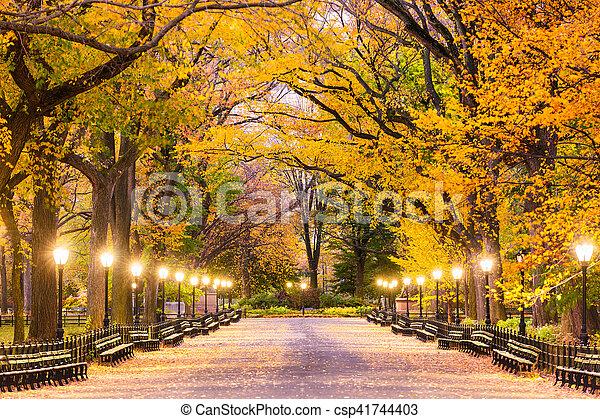 ville parc, central, york, nouveau - csp41744403