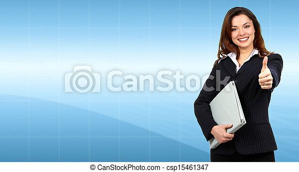 woman., business - csp15461347